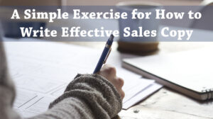 Write Sales Copy That Makes Money