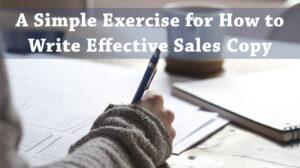 Write Sales Copy That Makes Money