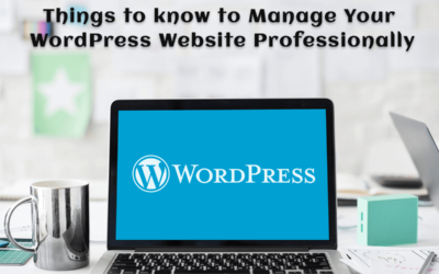 Manage your WordPress Website by your own